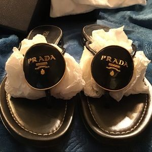 Gorgeous Authentic Prada Sandals
